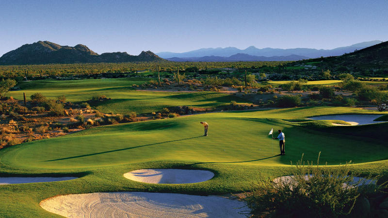 Golf Club Scottsdale, The 8th Par 4