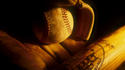 baseball glove/ball
